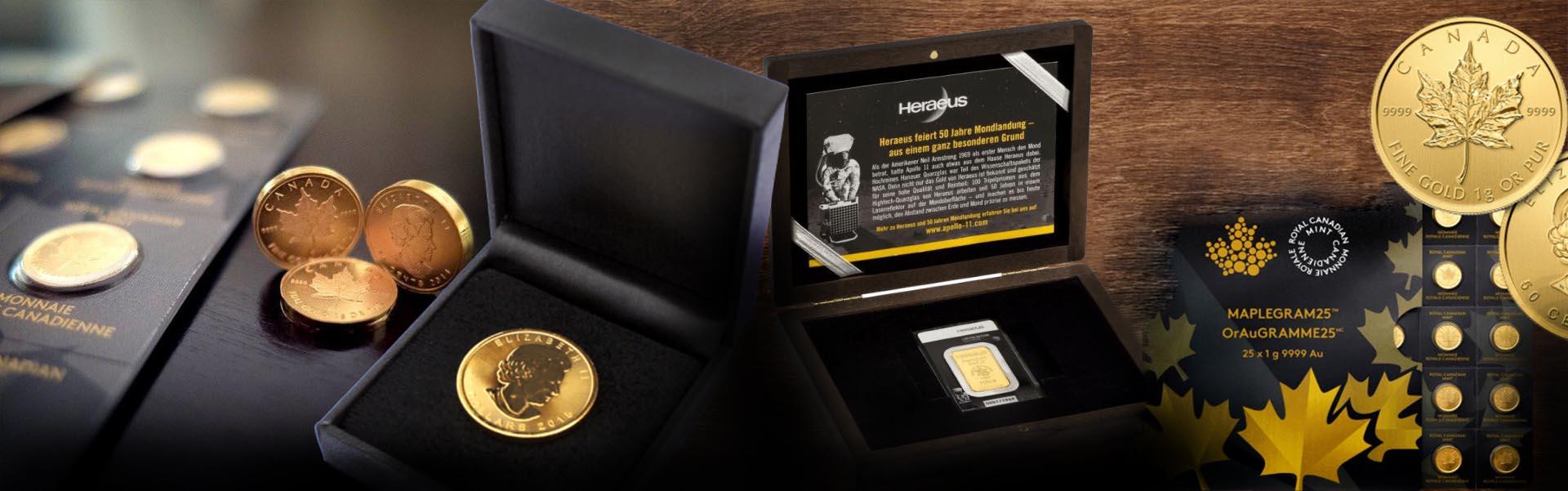 GoldSilberShop gold gift ideas